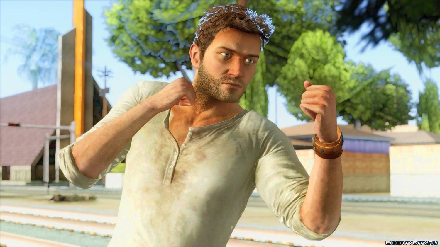 Nathan Drake S Skin From The Game Uncharted For Gta San