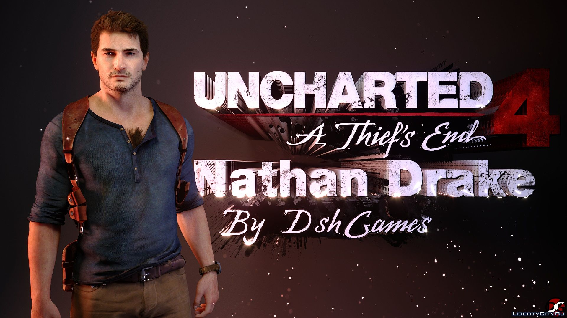 Nathan Drake From Uncharted 4 A Thief S End For Gta San Andreas