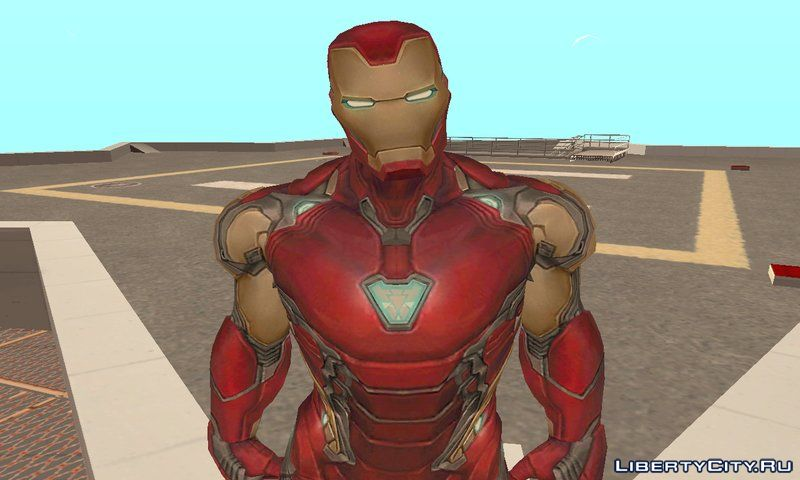 Iron Man MK85 (Future fight) for GTA San Andreas