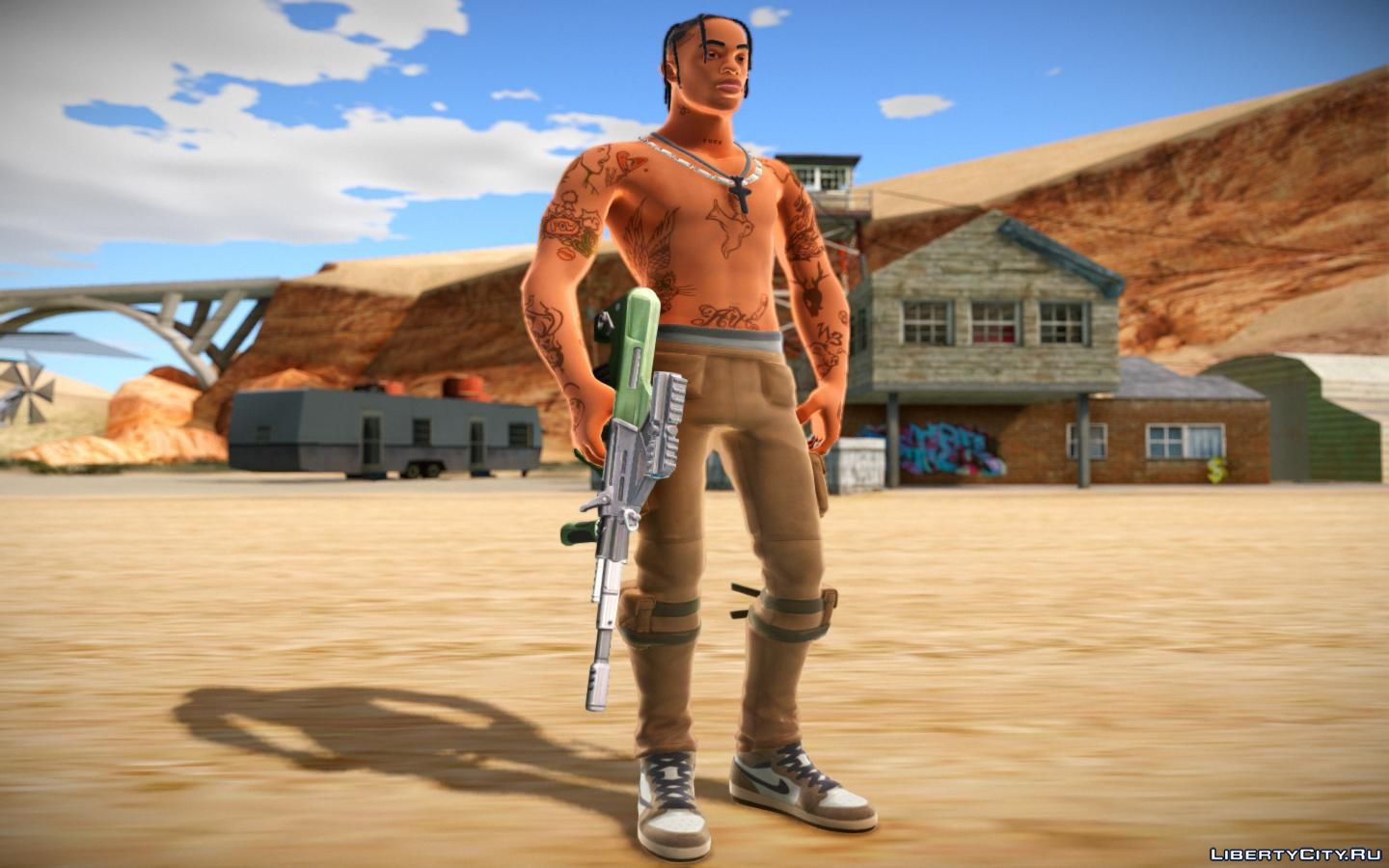 Travis Scott From Fortnite For Gta San Andreas
