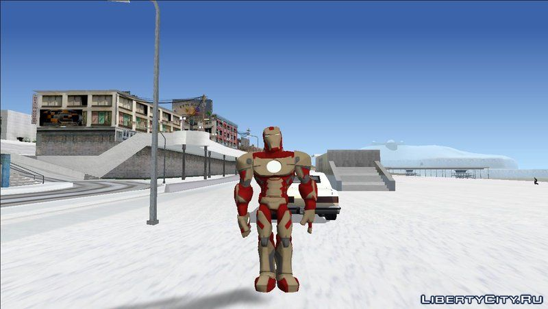 Iron Man from Disney Infinity for GTA San Andreas