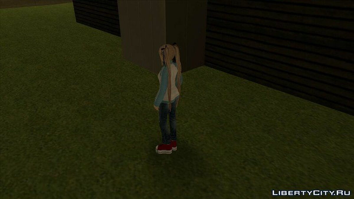Mary Rose in a trowel and jeans from the game Dead or Alive 5 for GTA San Andreas - screenshot #3