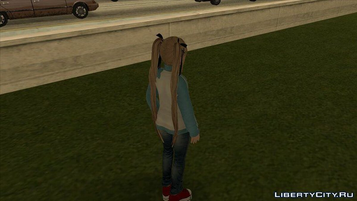 Mary Rose in a trowel and jeans from the game Dead or Alive 5 for GTA San Andreas - screenshot #2