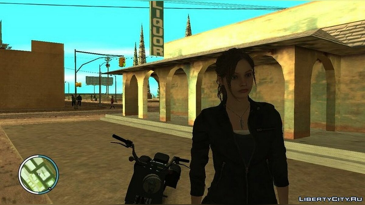 New character Claire Redfield for GTA San Andreas