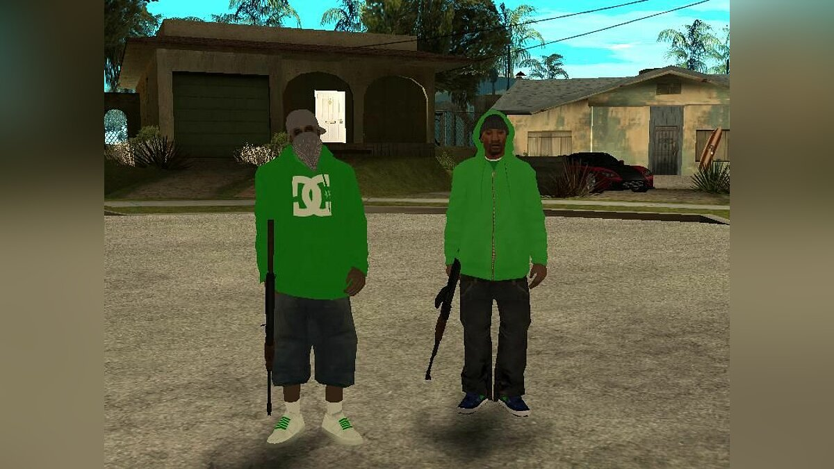 New character New Family for GTA San Andreas