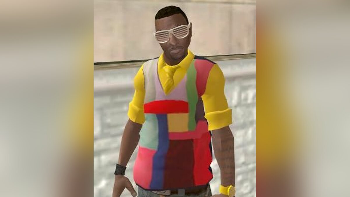 New character Kanye West Mod for GTA San Andreas