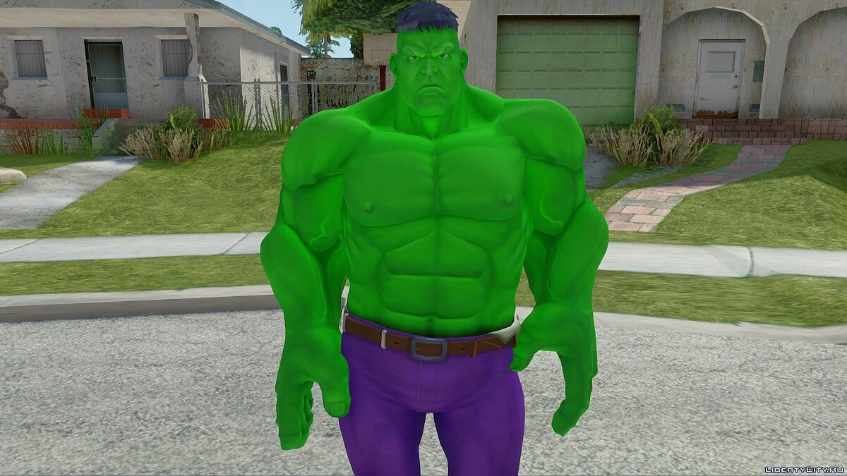 New character Hulk for GTA San Andreas