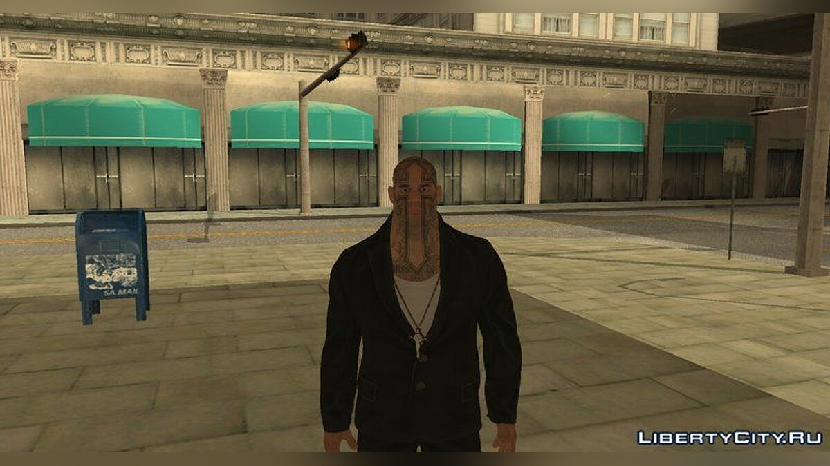 New character Tom Clancy's Ghost Recon Wildernes Boss for GTA San Andreas