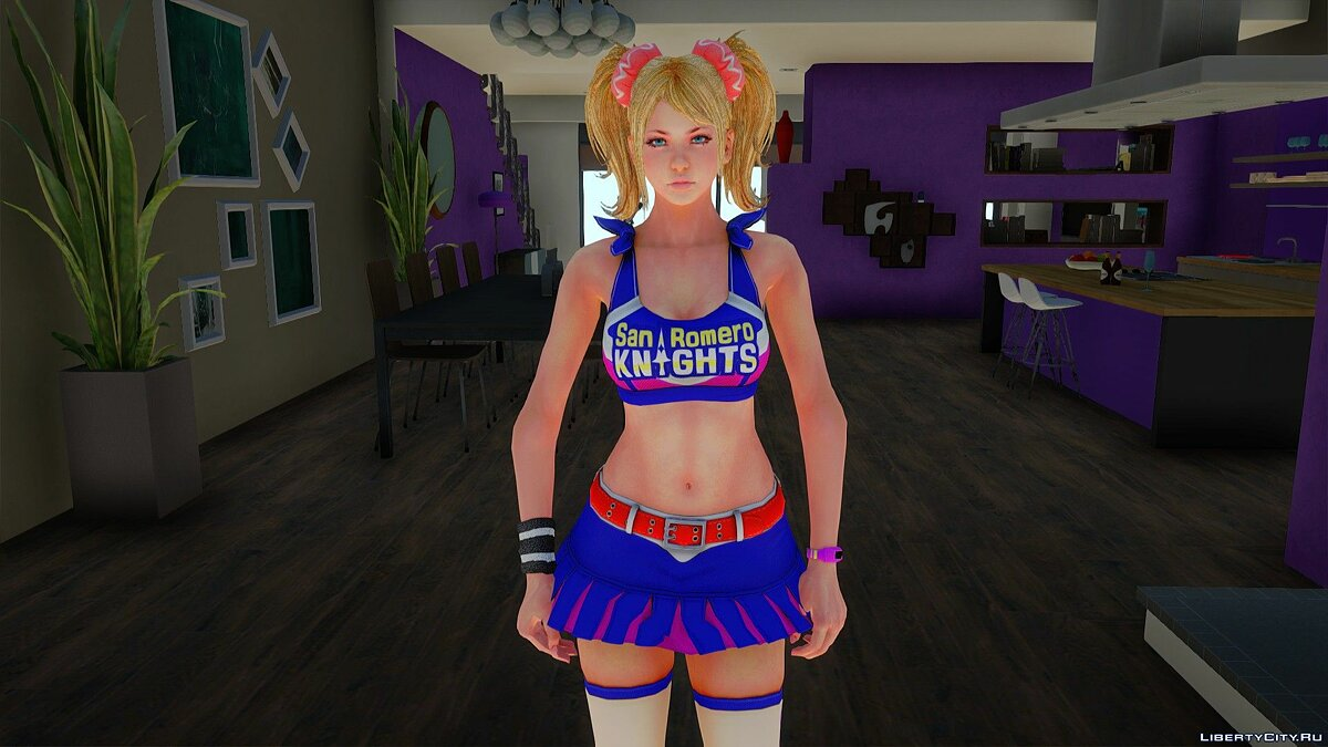 New character Juliet Starling from Lollipop Chainsaw for GTA San Andreas