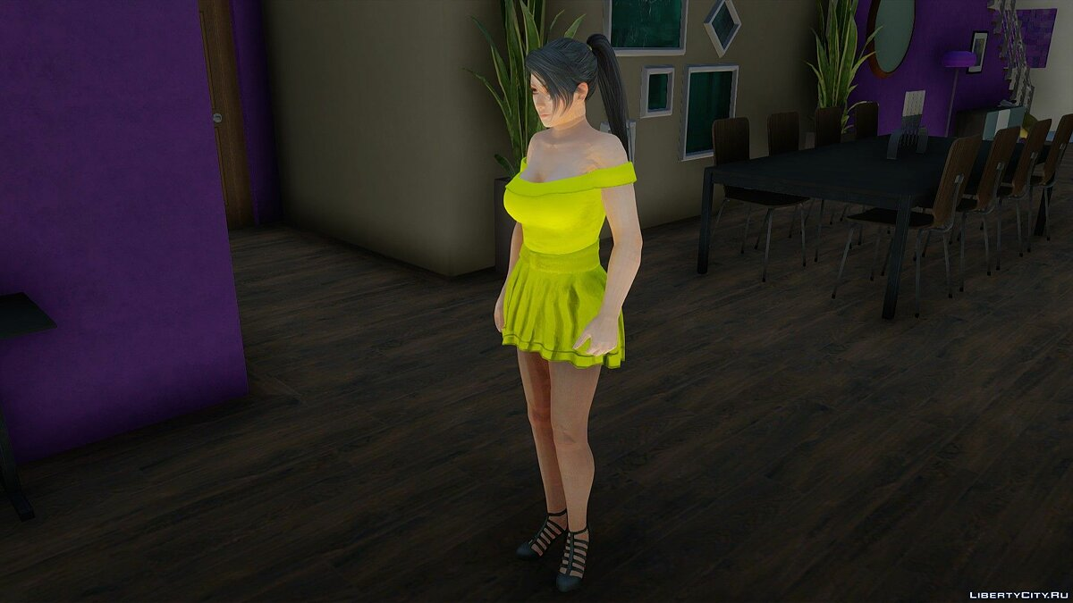 New character Momiji in Casual Wear v6 for GTA San Andreas