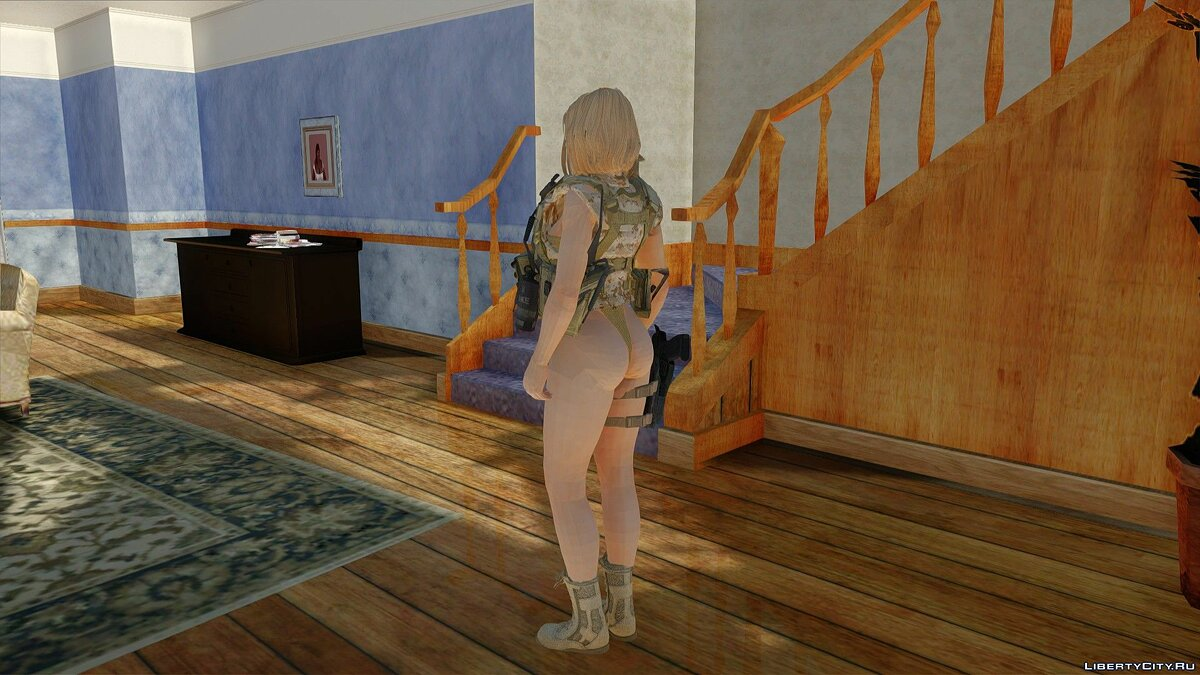 New character Momigi in Camouflage for GTA San Andreas