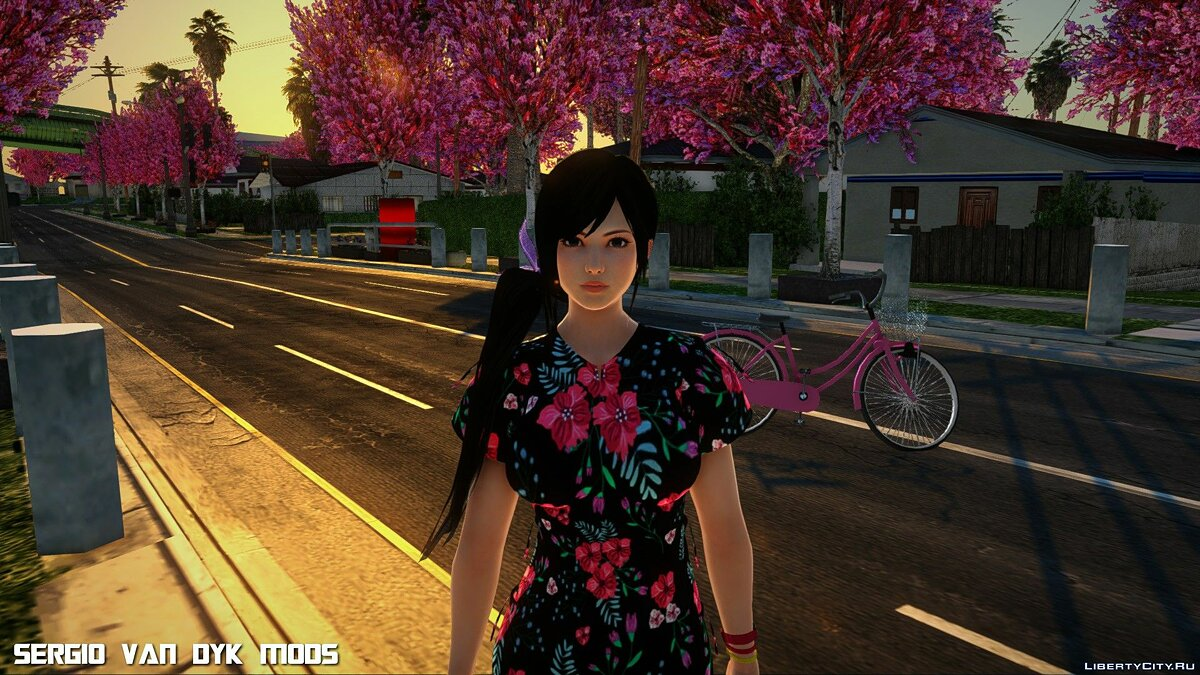 New character Kokoro in Dress (Happy Birthday) for GTA San Andreas