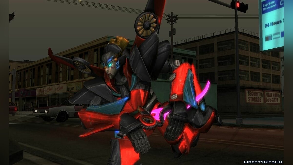 New character WindBlade (TRANSFORMERS: Forged to Fight) for GTA San Andreas