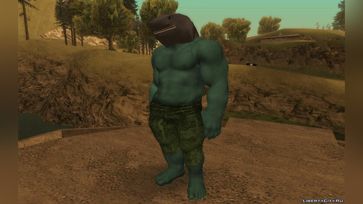 New character Shark King (Suicide Squad) for GTA San Andreas
