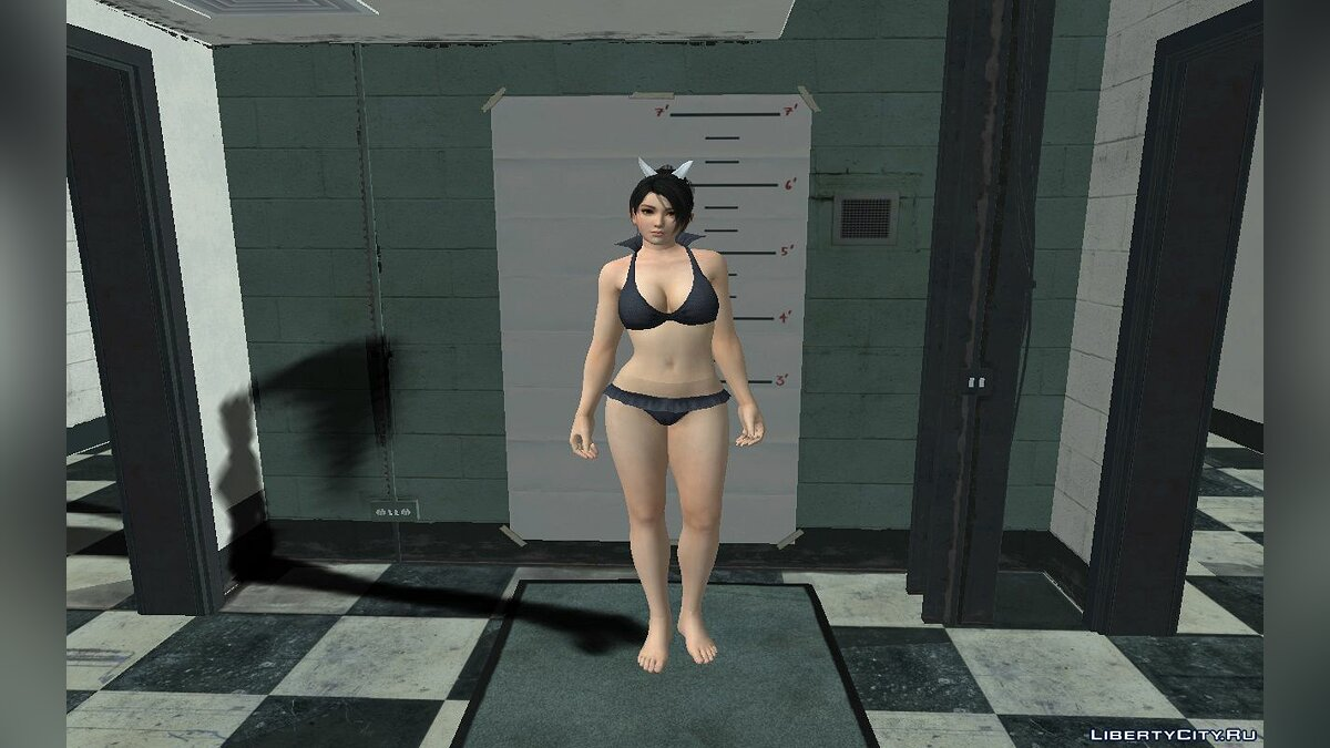 New character Momiji in a swimsuit for GTA San Andreas