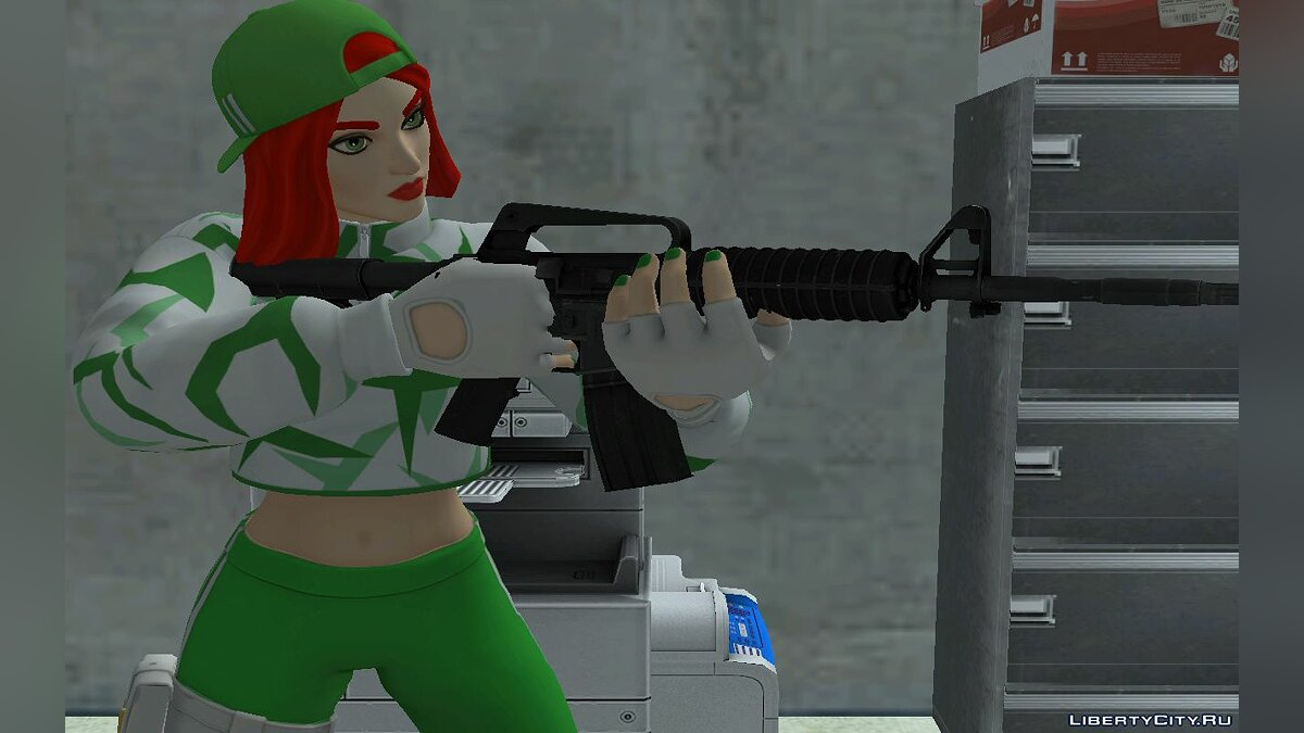 New character Chance of Fortnight for GTA San Andreas