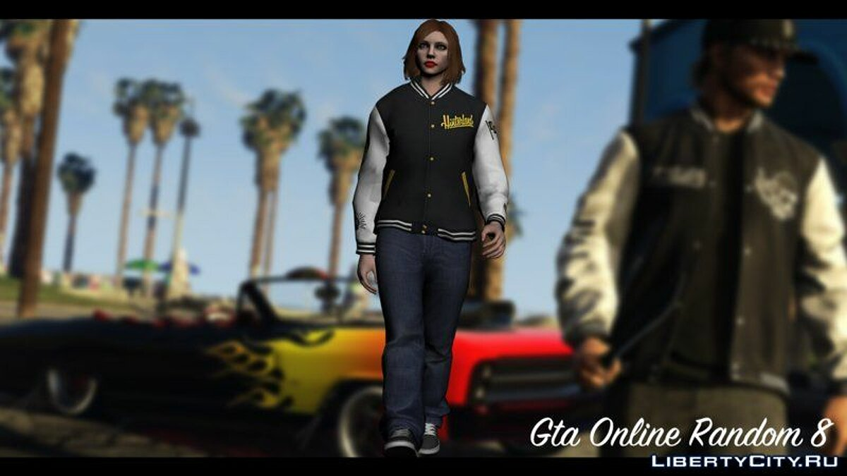 New character GTA Online Random Skin 8 for GTA San Andreas