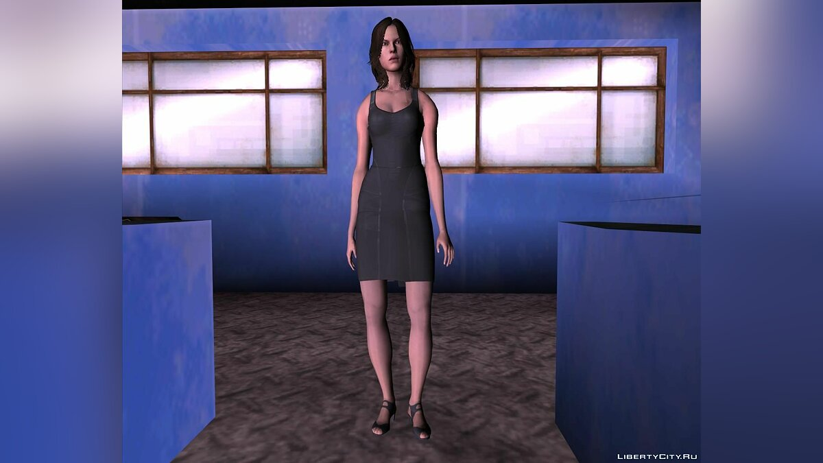 New character Helena Harper in a dress for GTA San Andreas