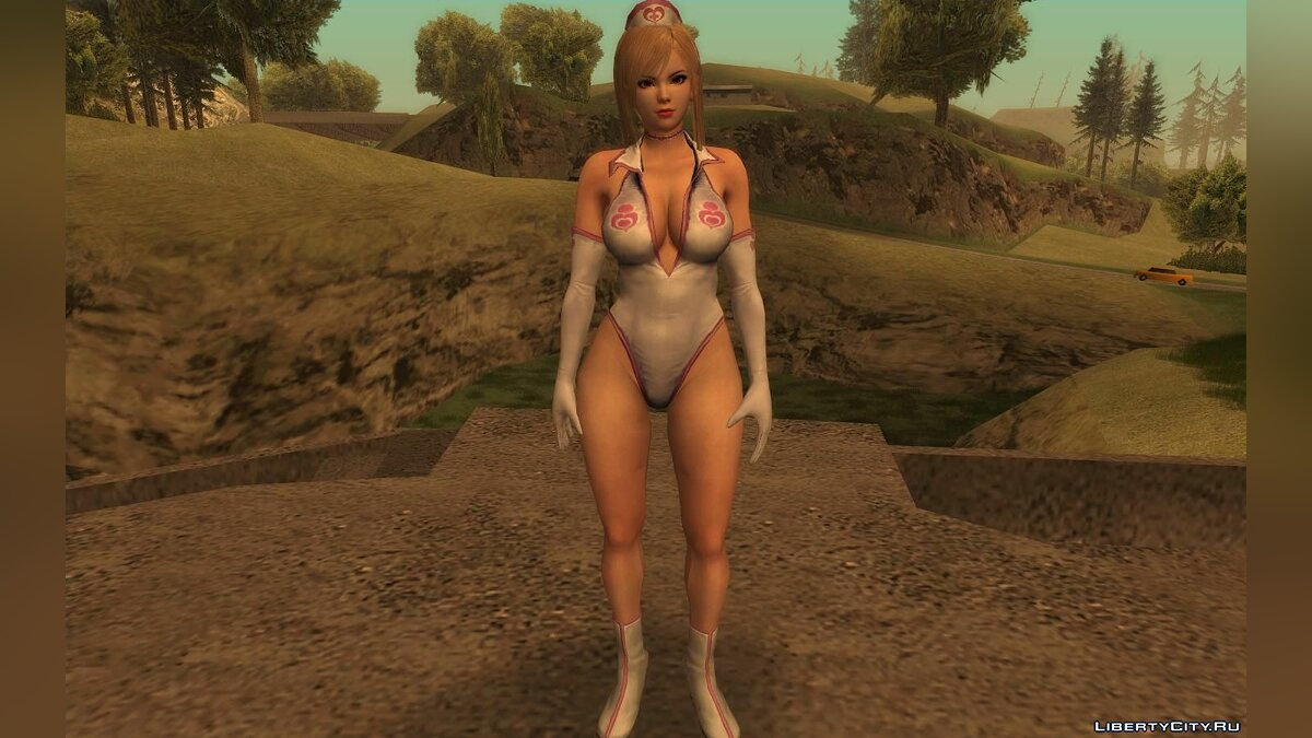 New character Mei Shiranui is a sexy nurse for GTA San Andreas