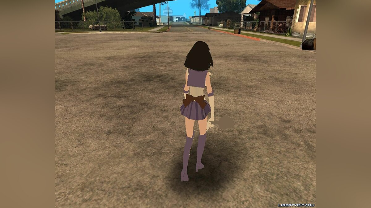 New character Sailor Saturn from anime