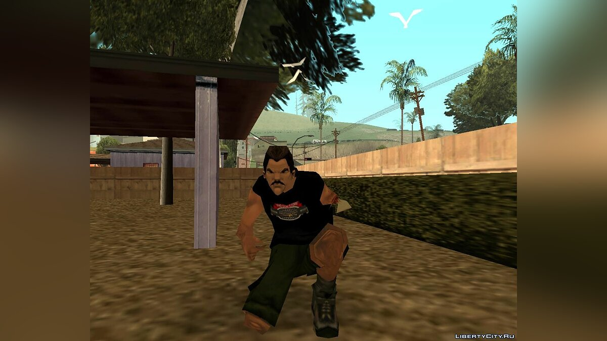 New character New Phil Cassidy for GTA San Andreas