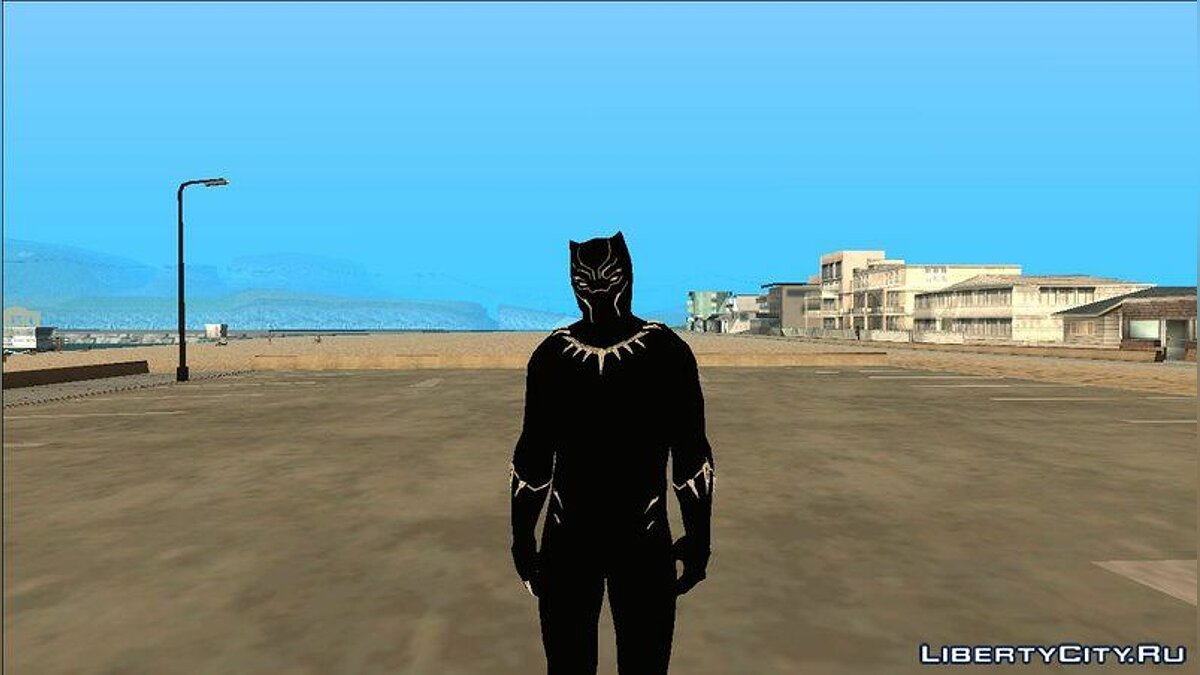 New character Black Panther for GTA San Andreas