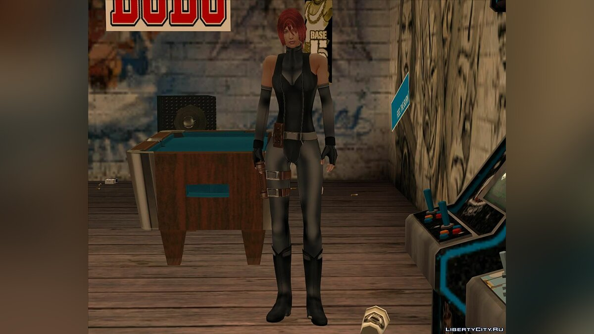 New character Hell in Regina Costume from Dino Crisis for GTA San Andreas