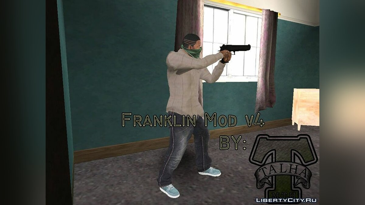 New character Franklin Mod v4 for GTA San Andreas