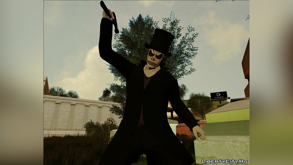 New character Halloween Surprise DLC Skin Pack for GTA San Andreas