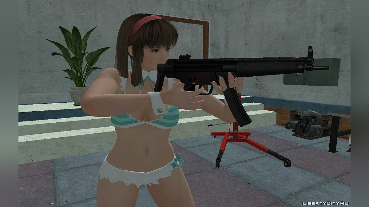 New character Hitomi in a swimsuit for GTA San Andreas
