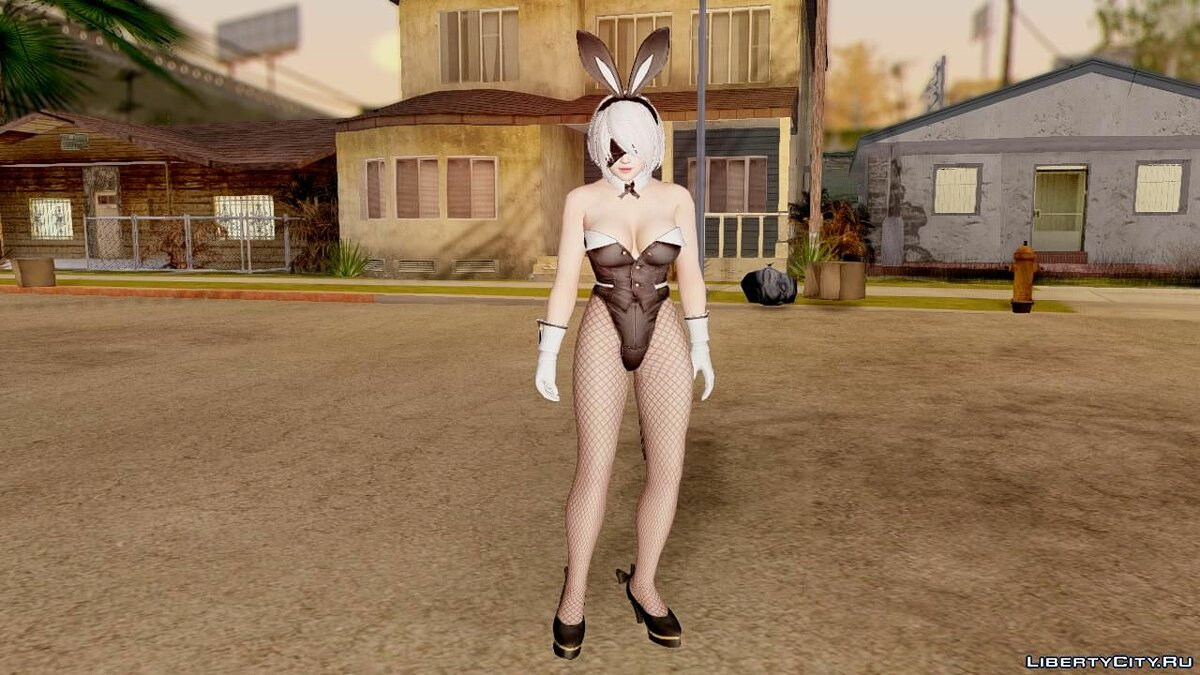 Dead Or Alive 5 LR YoRha 2B Bunny for GTA San Andreas