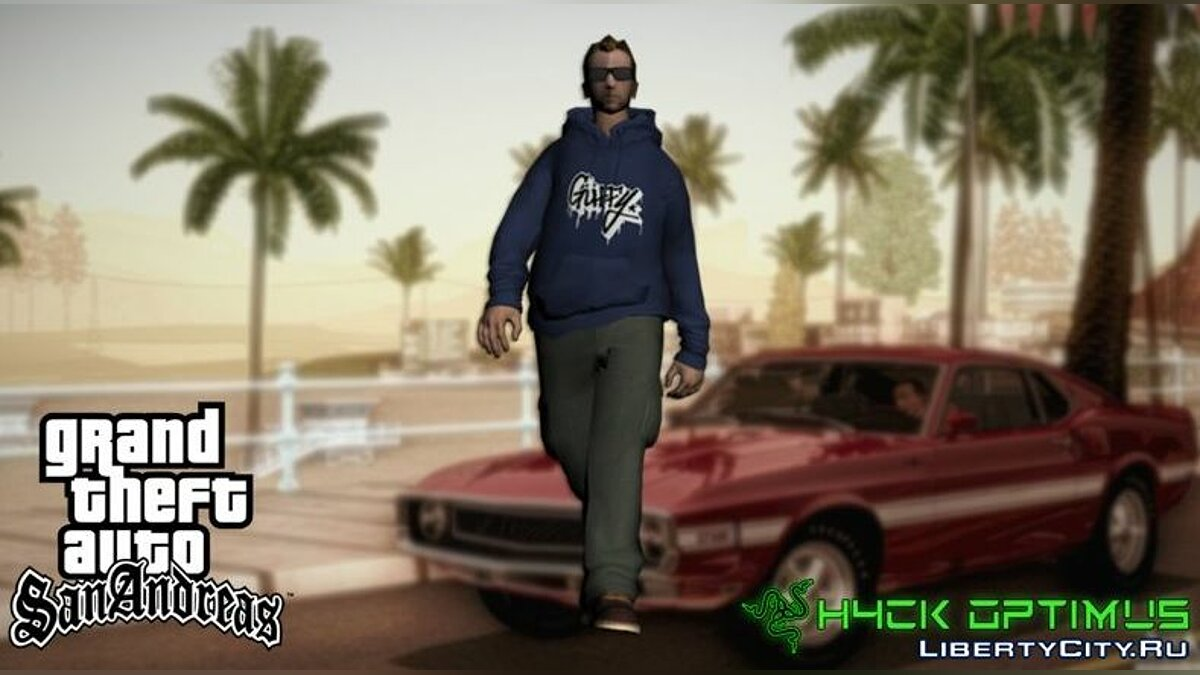 New character Kent Paul's New Skin - V2 Street Style for GTA San Andreas