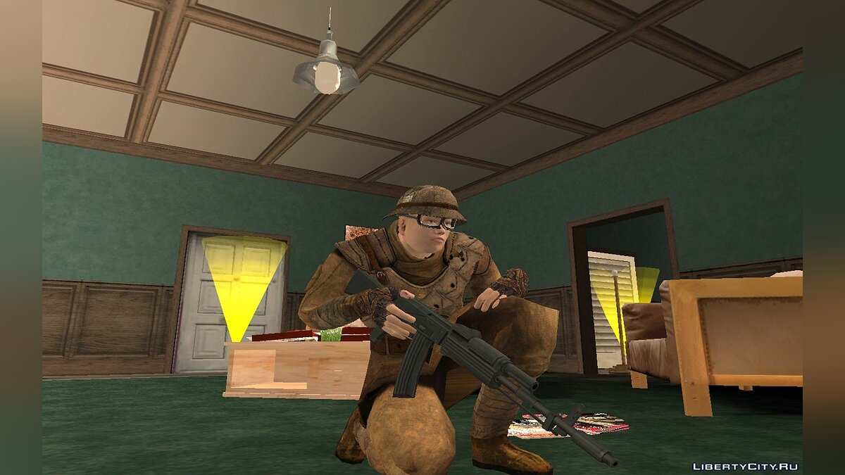 New character NCR trooper for GTA San Andreas