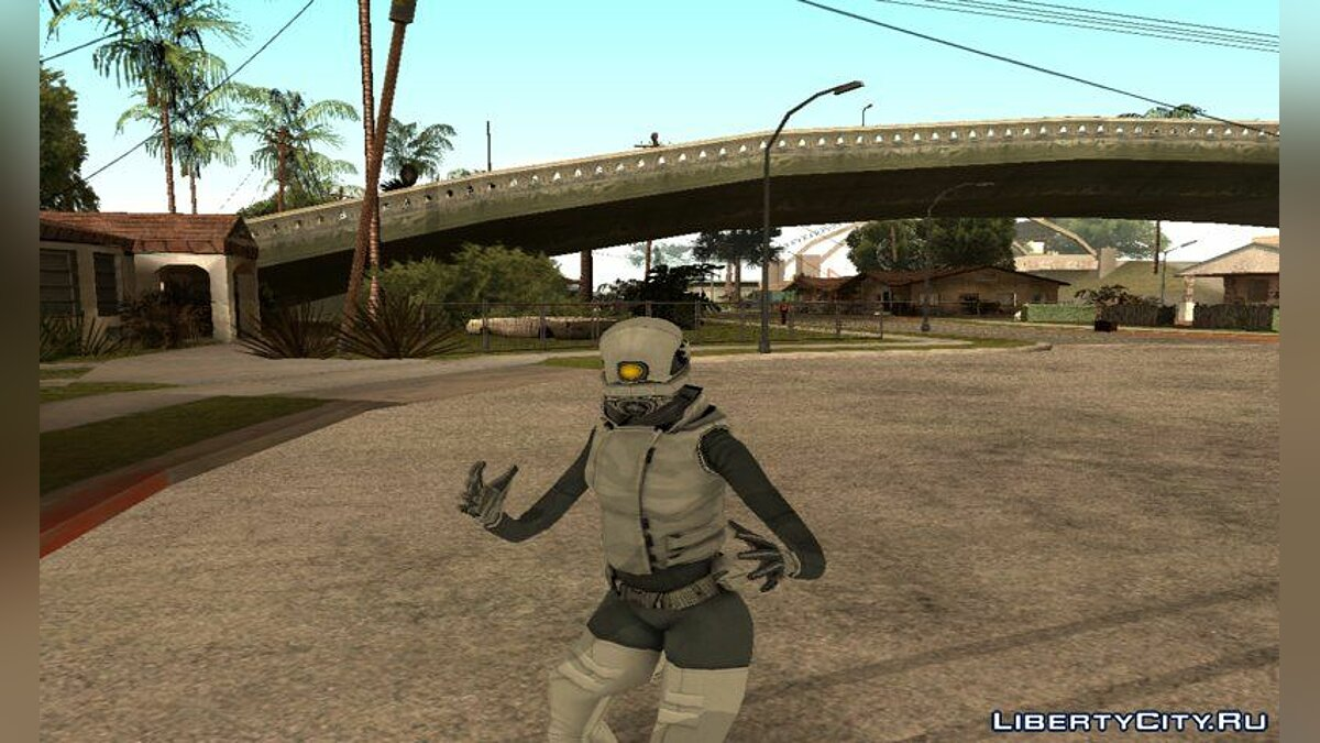 New character Combine Assassin from Half Life 2 beta for GTA San Andreas