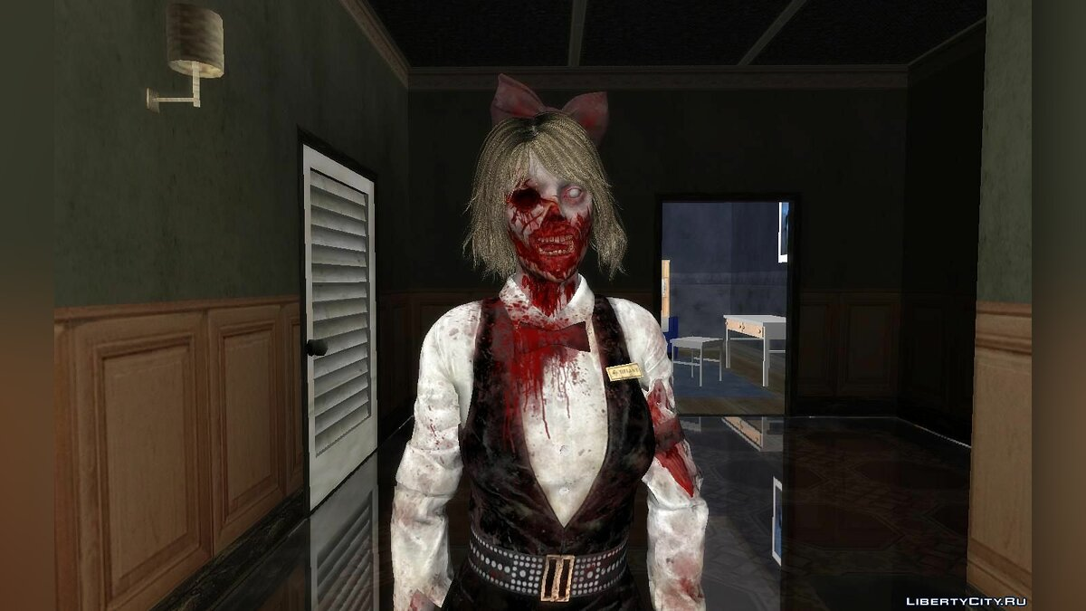 New character Dealer Zombie of Resident Evil Resistance for GTA San Andreas