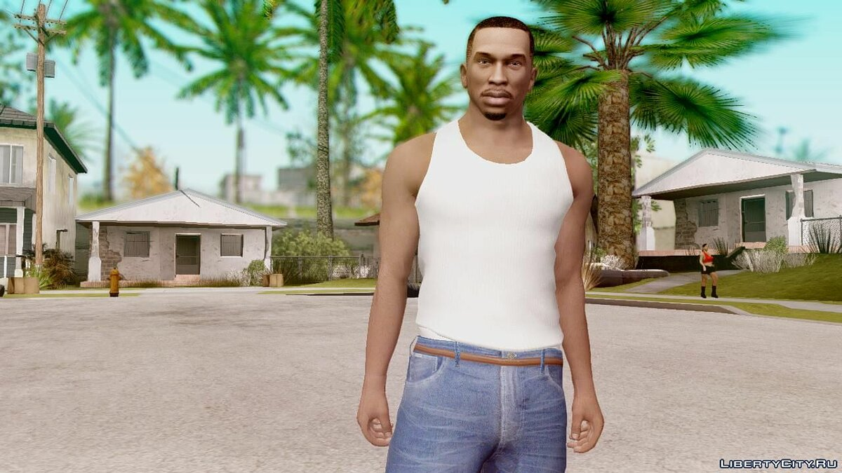 New character GTA V CJ HD 2018 for GTA San Andreas