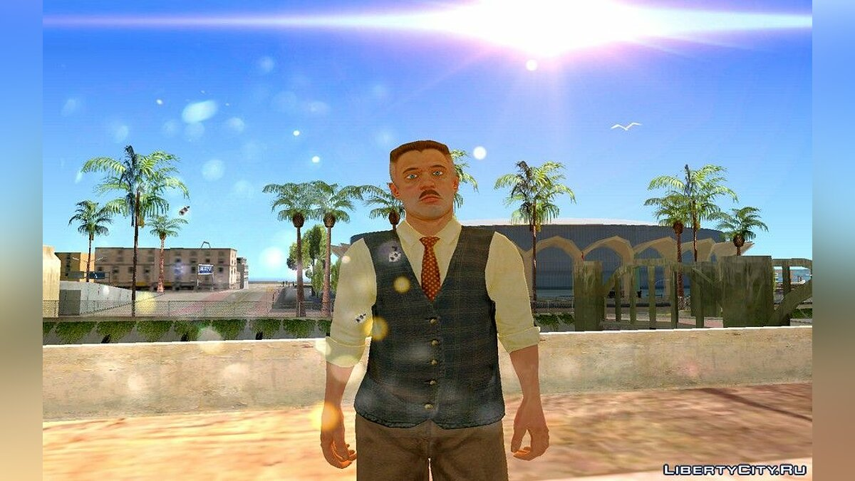 New character Jay Jon Jamison from Spider-Man 3 for GTA San Andreas