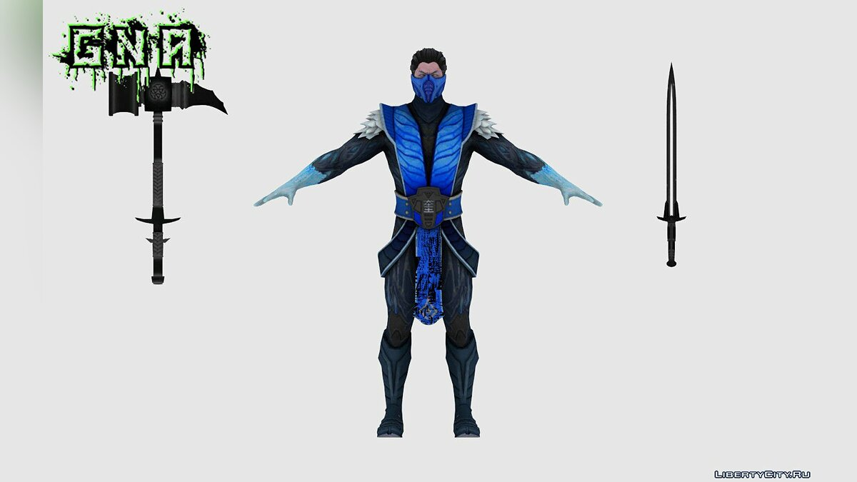 New character Sub-Zero INJ2 for GTA San Andreas