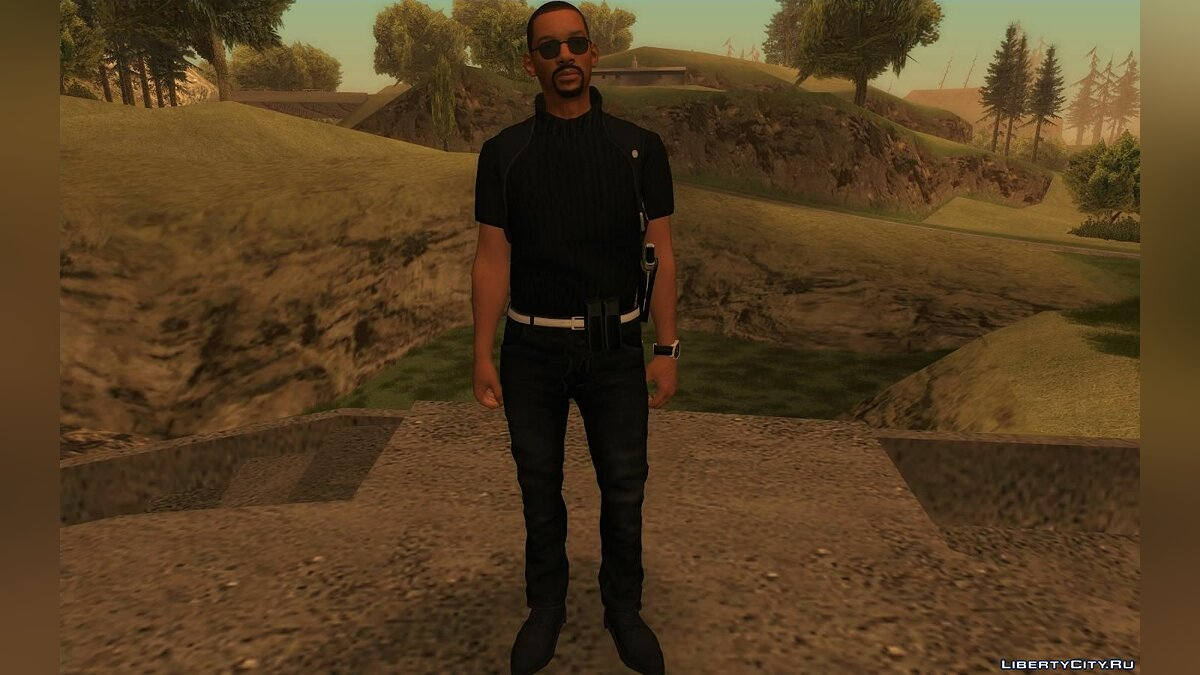 New character Mike Lowry (Will Smith) from Fortnite for GTA San Andreas
