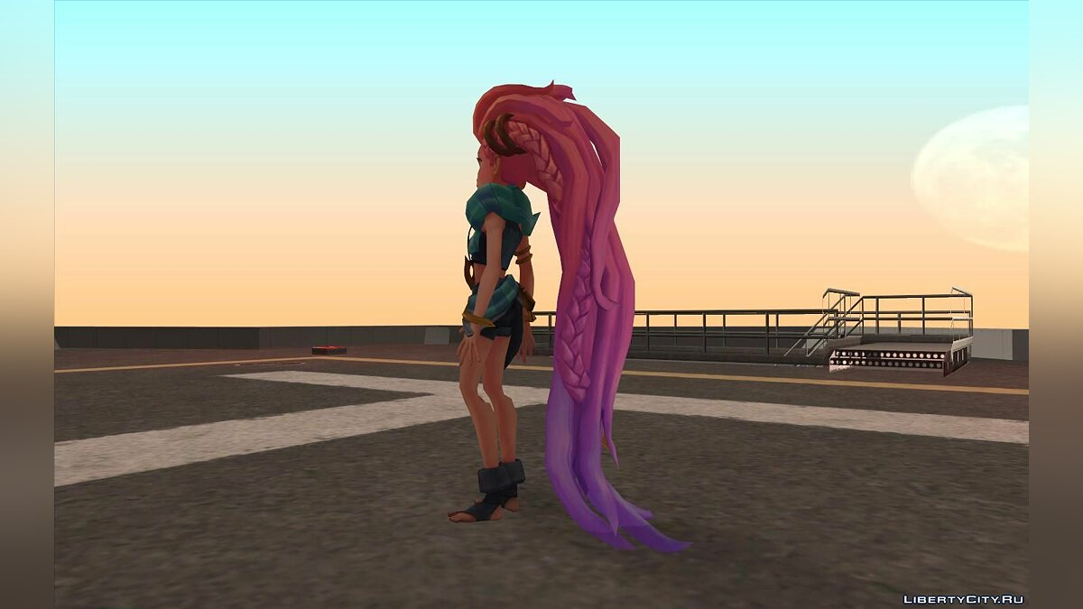 New character League of Legends Zoe for GTA San Andreas