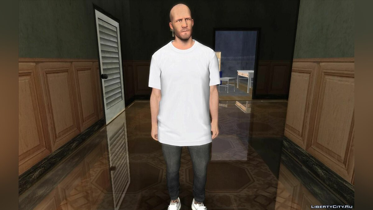 New character Jason Statham in casual clothes for GTA San Andreas