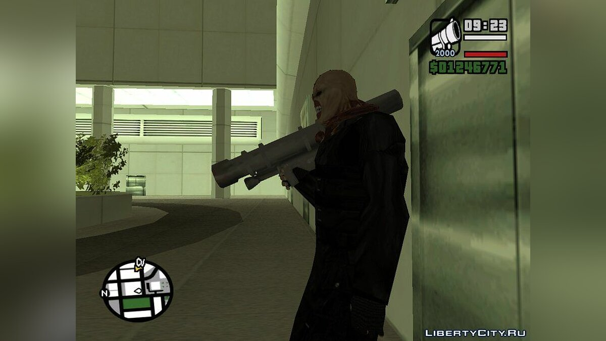 New character Немезида из игры Resident Evil for GTA San Andreas