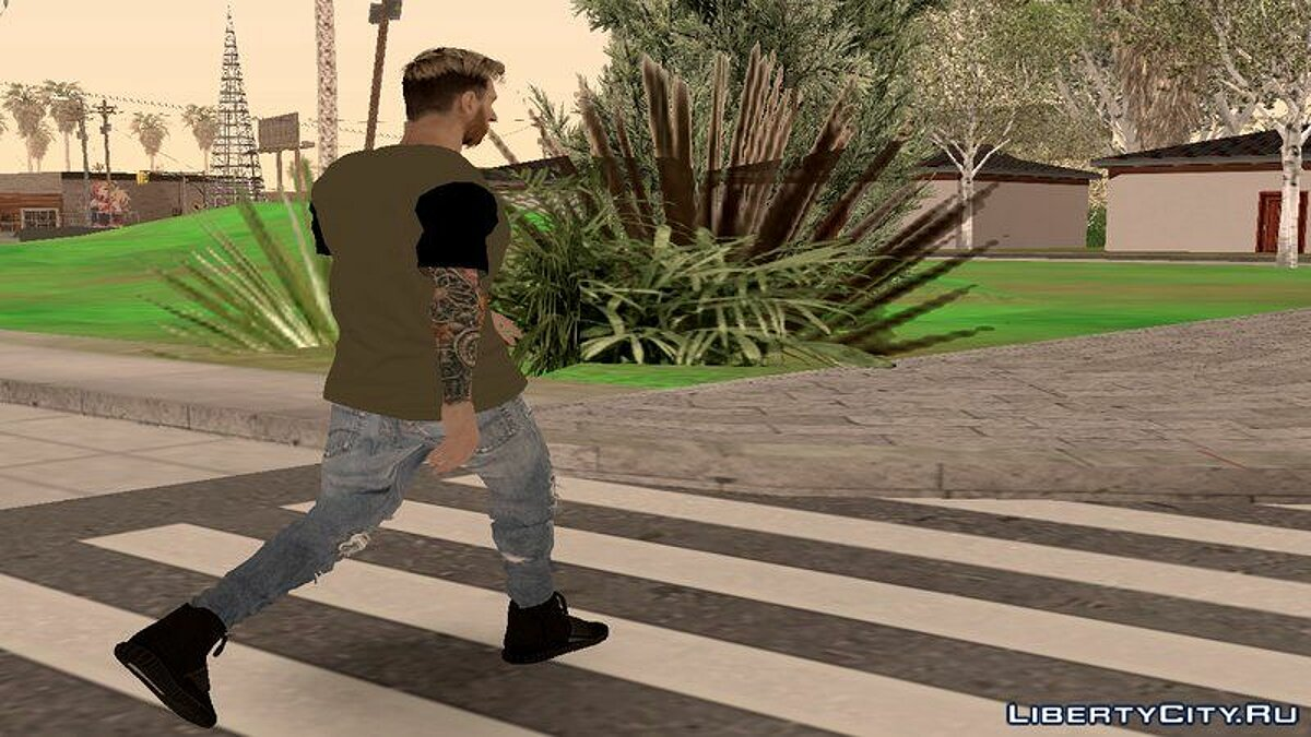 New character Lionel Messi for GTA San Andreas