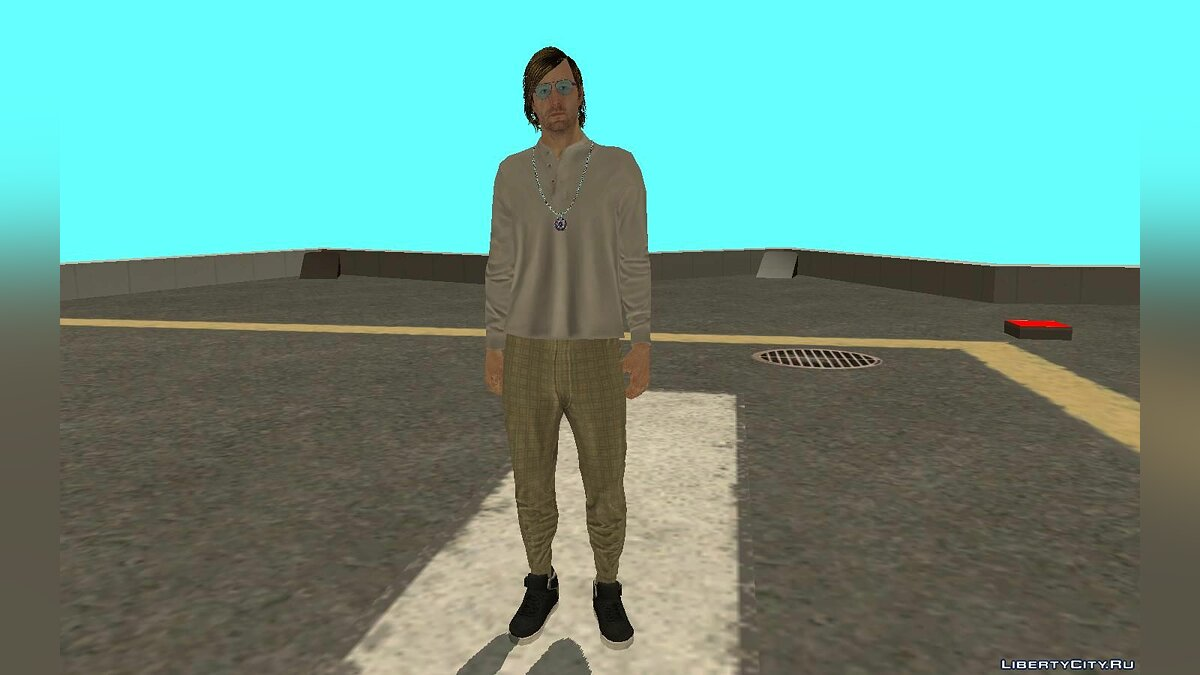 New character Инглиш Дейв из DLC After Hours for GTA San Andreas