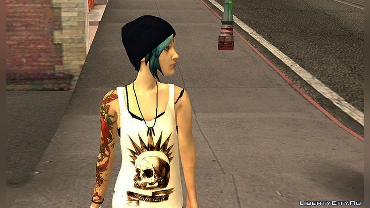 New character Chloe from the game Life Is Strange for GTA San Andreas
