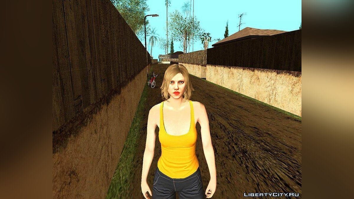 New character Randomized skin # 209 (male and female) for GTA San Andreas
