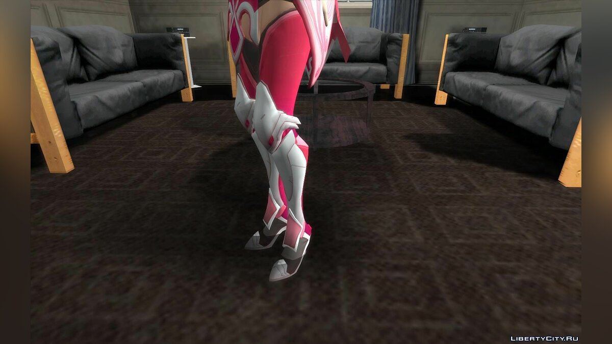 New character Mercy (pink) from Overwatch for GTA San Andreas