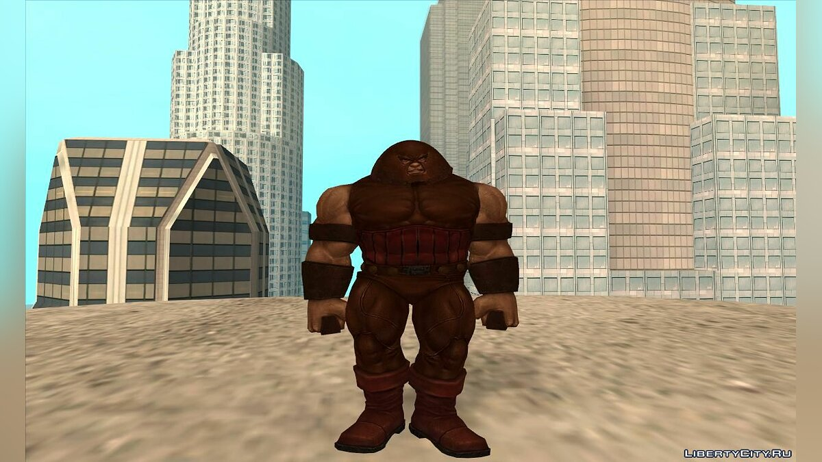 New character Juggernaut (MARVEL: Future Fight) for GTA San Andreas