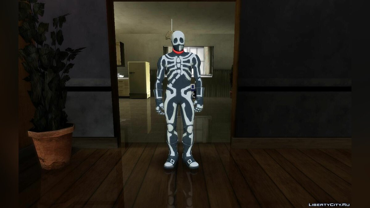New character Skullomania from the game Fighting EX Layer for GTA San Andreas