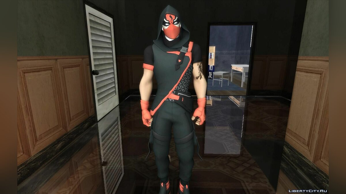 New character Seeker for GTA San Andreas